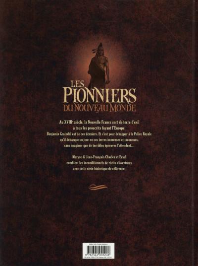 Dos Les pionniers du nouveau monde - intégrale tome 9 à tome 12
