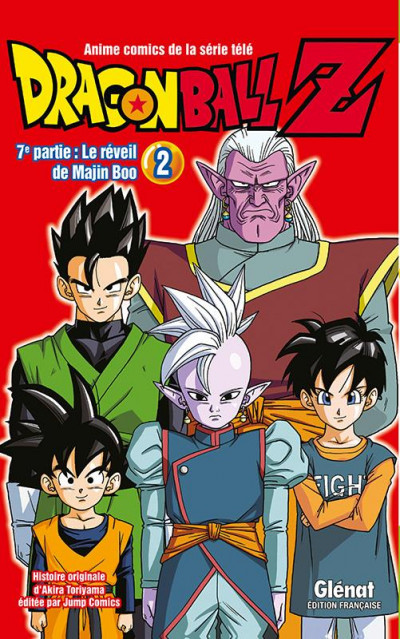 Couverture Dragon ball Z - cycle 7 tome 2