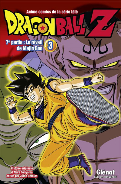 Couverture Dragon Ball Z - cycle 7 tome 3