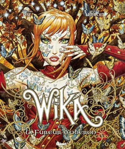Couverture wika tome 1 - et la fureur d'obéron - édition collector