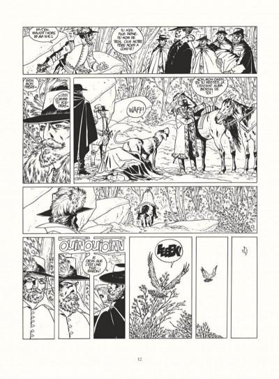 Page 0 les 7 vies de l'épervier - intégrale noir & blanc