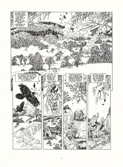 Page 3 les 7 vies de l'épervier - intégrale noir & blanc