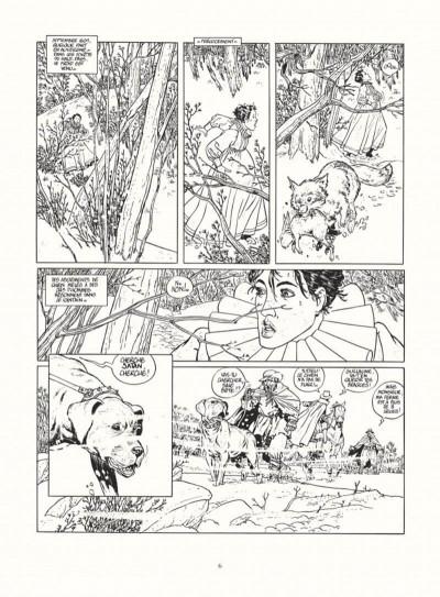 Page 4 les 7 vies de l'épervier - intégrale noir & blanc