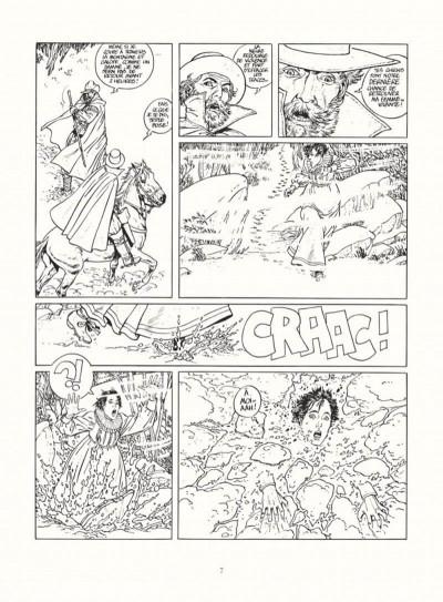 Page 5 les 7 vies de l'épervier - intégrale noir & blanc