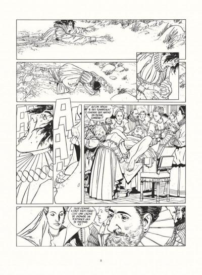 Page 6 les 7 vies de l'épervier - intégrale noir & blanc