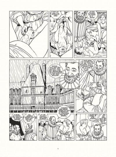 Page 7 les 7 vies de l'épervier - intégrale noir & blanc
