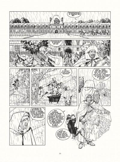 Page 8 les 7 vies de l'épervier - intégrale noir & blanc