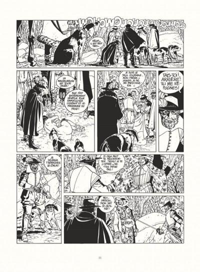 Page 9 les 7 vies de l'épervier - intégrale noir & blanc