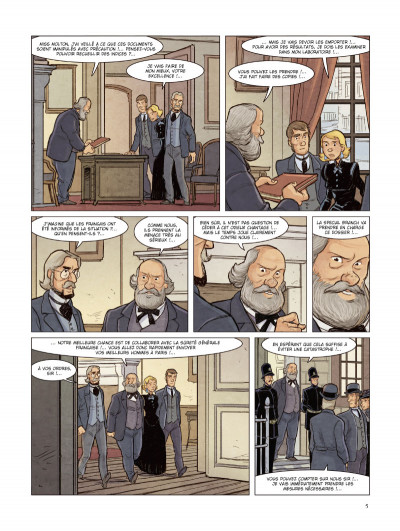 Page 3 Special branch tome 5