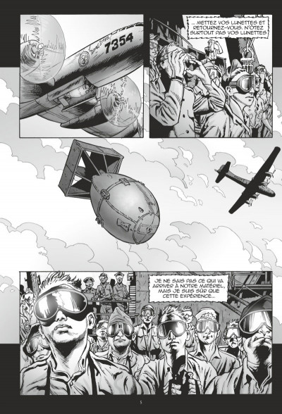 Page 3 Bikini atoll tome 1