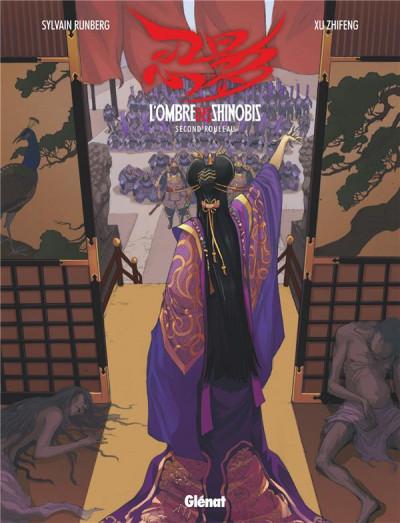Couverture L'ombre des shinobis tome 2