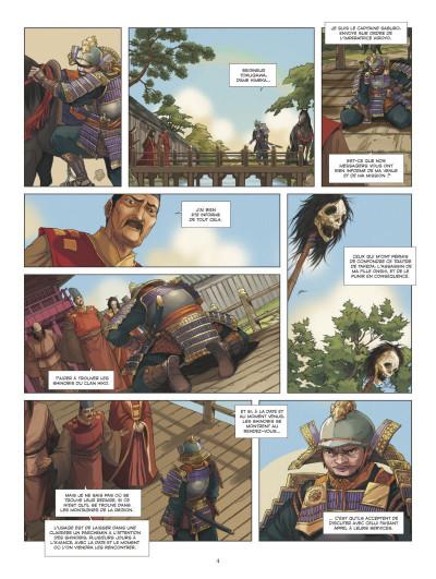 Page 2 L'ombre des shinobis tome 2
