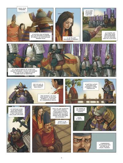 Page 3 L'ombre des shinobis tome 2