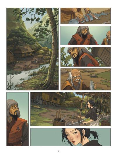 Page 4 L'ombre des shinobis tome 2