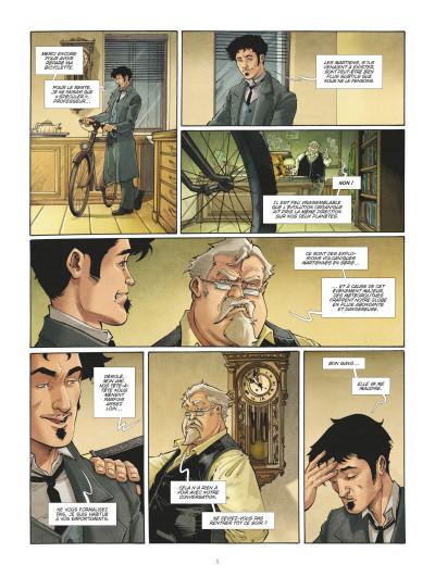 Page 3 La guerre des mondes tome 1
