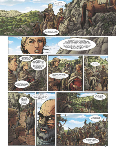 Page 2 Le dernier cathare tome 4