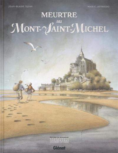 Couverture Meurtre au Mont-Saint-Michel