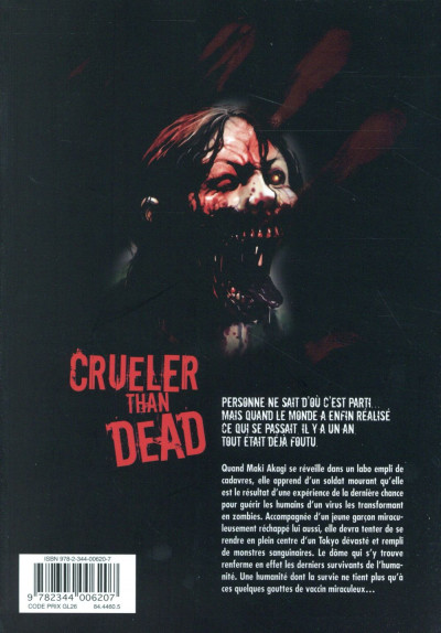 Dos Crueler than dead tome 1