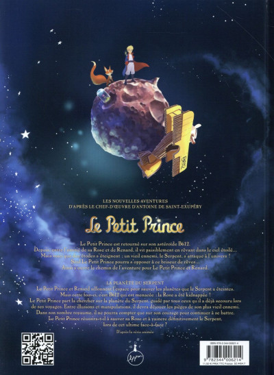 Dos Le petit prince tome 24