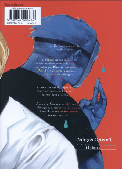 Dos Tokyo ghoul tome 10