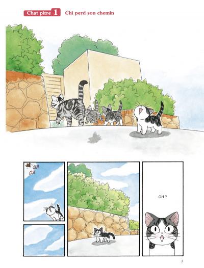 Page 1 Chi - une vie de chat grand format tome 1