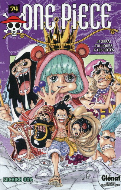 Couverture One piece tome 74