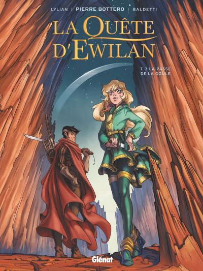 image de La quête d'Ewilan tome 3 - La passe de la goule