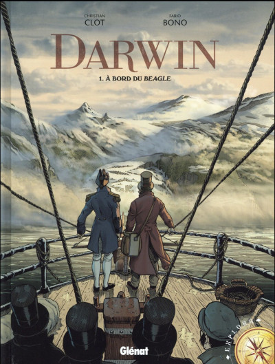 Couverture Darwin tome 1
