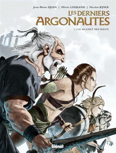 Couverture Les derniers argonautes tome 1 - édition spéciale - Le Silence des dieux