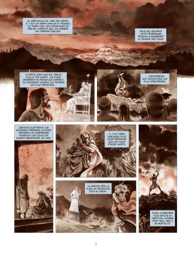 Page 1 Les derniers argonautes tome 1 - édition spéciale - Le Silence des dieux