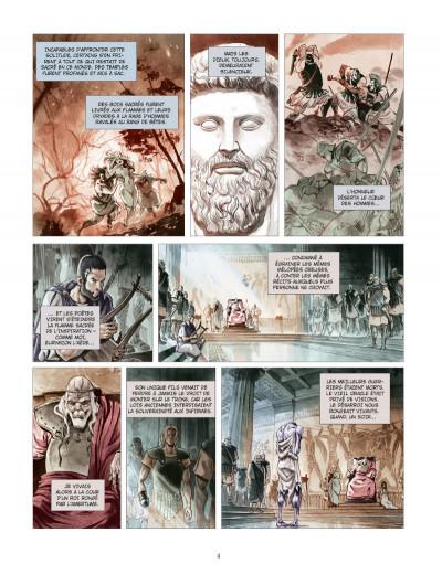 Page 2 Les derniers argonautes tome 1 - édition spéciale - Le Silence des dieux