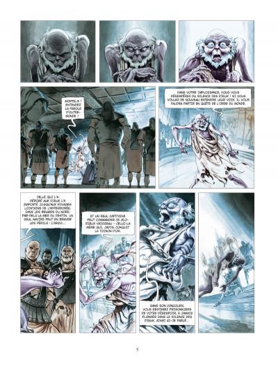 Page 3 Les derniers argonautes tome 1 - édition spéciale - Le Silence des dieux
