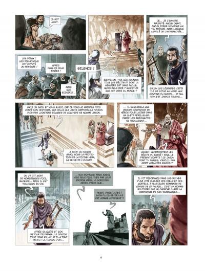 Page 4 Les derniers argonautes tome 1 - édition spéciale - Le Silence des dieux