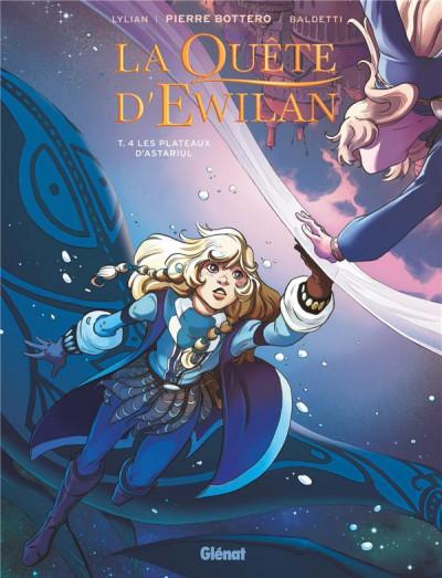 Couverture La quête d'Ewilan tome 4