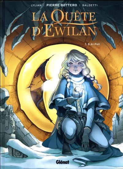 Couverture La quête d'Ewilan tome 5