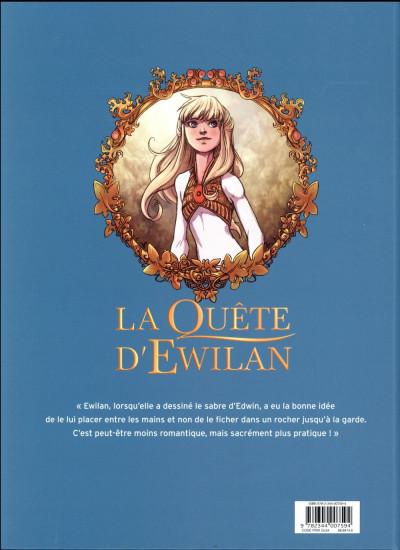 Dos La quête d'Ewilan tome 5