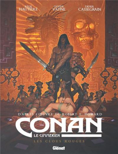 Couverture Conan le Cimmérien - Les clous rouges