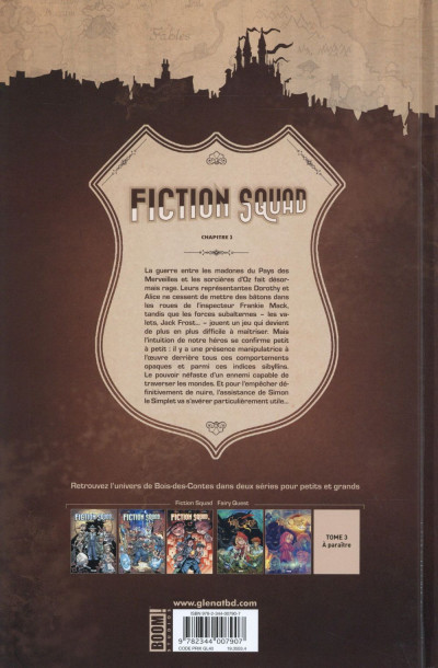 Dos Fiction squad tome 3