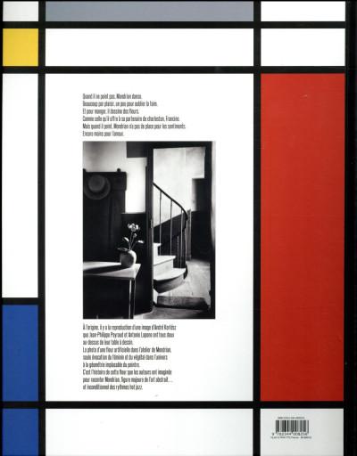 Dos La fleur dans l'atelier de Mondrian