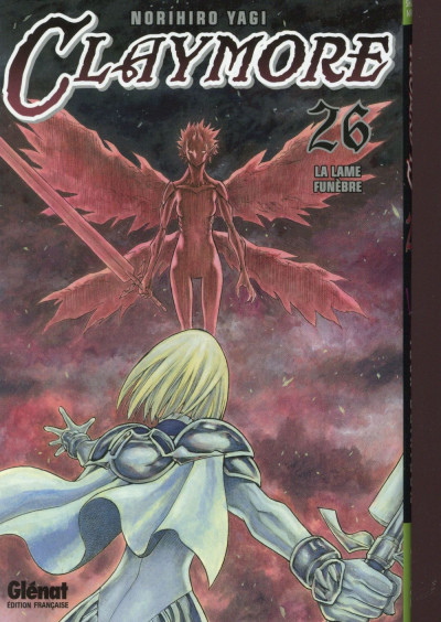 Couverture Claymore tome 26