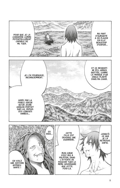 Page 7 Claymore tome 26