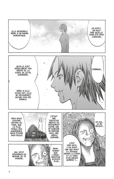 Page 8 Claymore tome 26