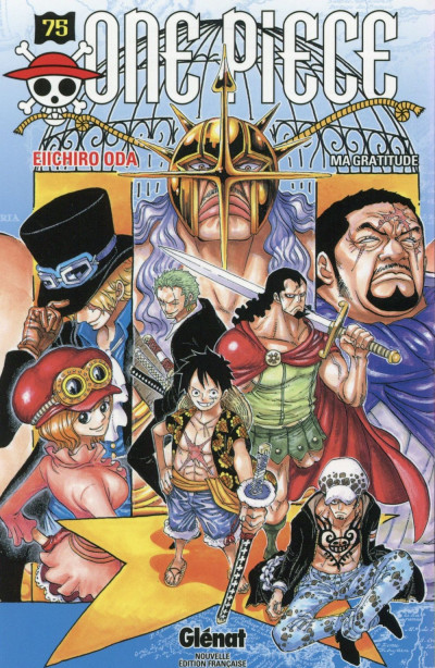 Couverture One piece tome 75