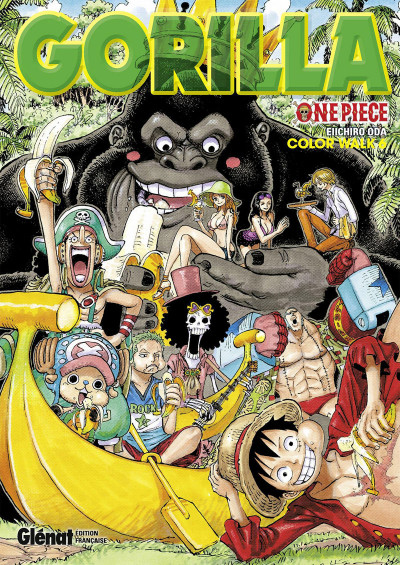 Couverture One piece color walk tome 6