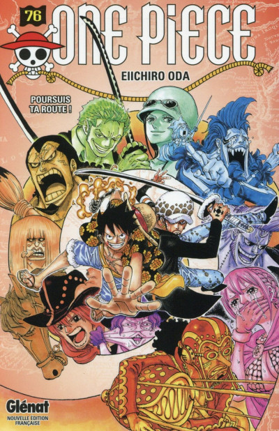 Couverture One piece tome 76