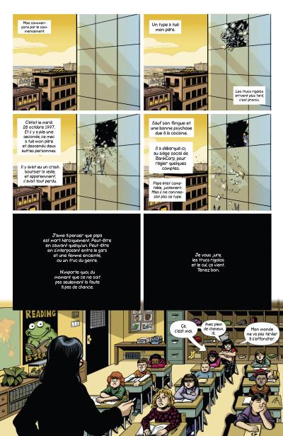 Page 3 Sex criminals tome 1 - Un coup tordu
