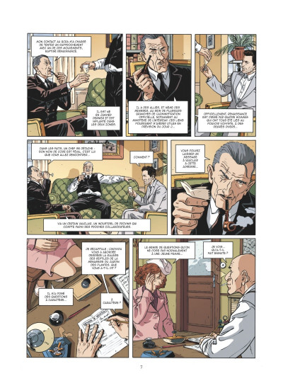 Page 5 Les mystères de la troisième République tome 5