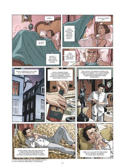 Page 9 Les mystères de la troisième République tome 5
