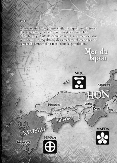 Page 7 Ayakashi légendes des 5 royaumes tome 1