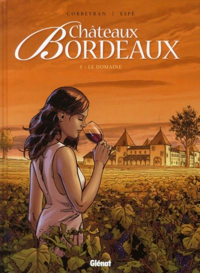 Couverture 48h - châteaux Bordeaux tome 1